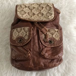Mudd lace detail backpack